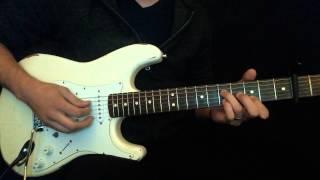 """Sovereign"" Chris Tomlin Lead Guitar Tutorial"