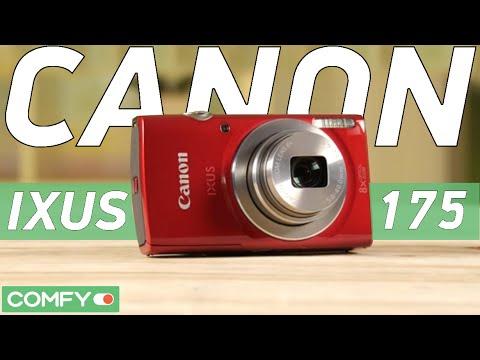 Canon IXUS 175 - суперкомпактная цифровая фотокамера- Видеодемонстрация от Comfy.ua