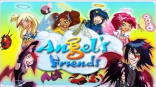 Angel's Friends - Gas calls Miki a bitch in the English Dub