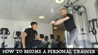 How To Become a Personal Trainer in the UK - 2017
