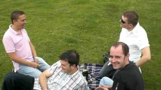 preview picture of video 'Bristol Camp Boys Champagne Picnic - Camp It Up'
