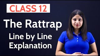 The Rattrap Class 12 in Hindi | The Rattrap Class 12 in Hindi Line by Line Explanation | WITH NOTES