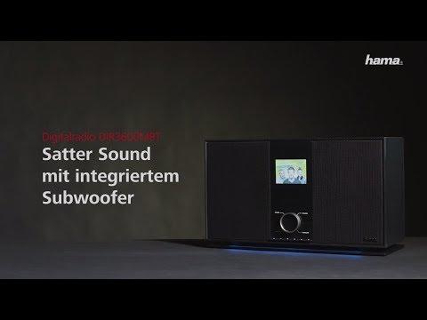 "Hama Digitalradio ""DIR3600MBT"" – Internetradio/DAB+/FM/Multiroom/Bluetooth/App-Steuerung"