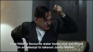Hitler's water bottle is stolen and thrown at Justin Bieber