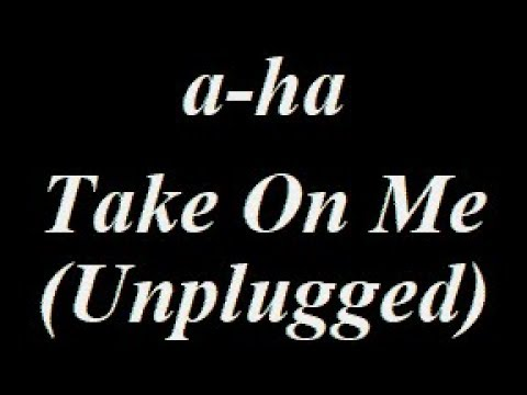 A-Ha - Take On Me (Unplugged) Instrumental Track
