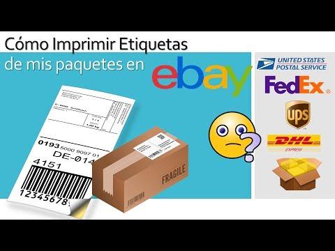Como comprar etiquetas de Envio en Ebay - Ecommerce