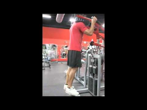 Standing Calf Raise - Toes Out (2-1-1-0)