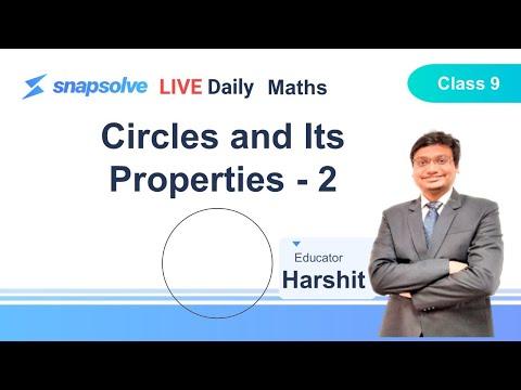 ⭕ Grade 9 | Maths | Circles and Its Properties - 2