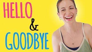 HOW GERMANS SAY Hello & Goodbye
