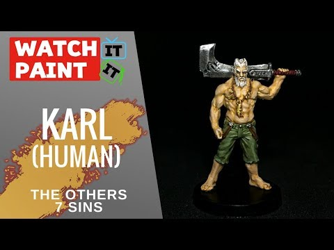 The Others : 7 Sins - Painting Karl (Human)