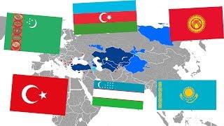 Тюркская страна | Объединение тюрков | Пантюркизм