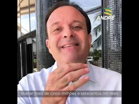 MAIS R$ 5,7 MILHÕES EM RECURSOS VIZBILIZADOS POR ANDRÉ MOURA