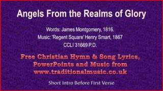 Angels From The Realms Of Glory(MP35) - Christmas Carols Lyrics & Music