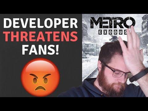 Metro Exodus Developer THREATENS Fans!