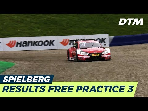 Results & Highlights Free Practice 3 - DTM Spielberg 2018
