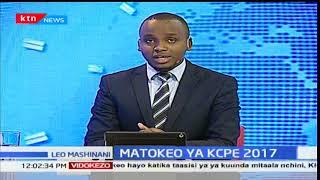 Waziri wa elimu Daktari Fred Matiang'i azindua rasmi matokeo ya KCPE 2017