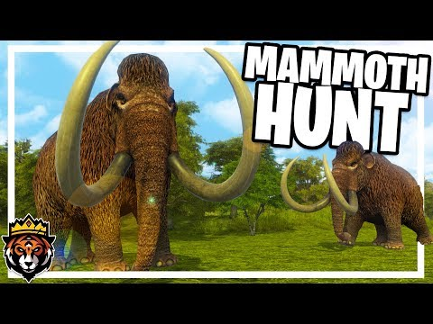 Hunting Mammoths, Farming & Base Building in Dawn of Man Gameplay Ep 5
