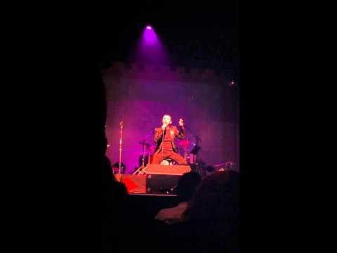 Marc Almond - A Woman's Story Southend Cliffs Pavilion  11/11/10