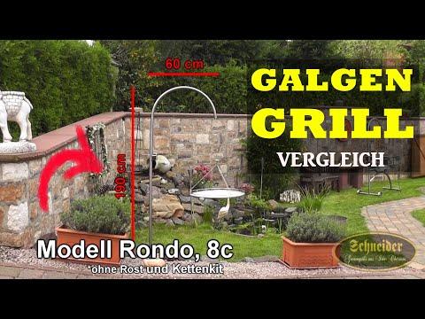 Galgengrills: Schwenkgrills aus Edelstahl - Schneider Grillgeräte