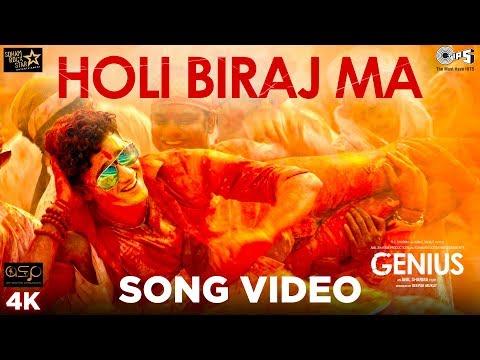 Holi Biraj Ma Official Song Video - Genius   Utkarsh, Ishita   Jubin, Himesh Reshammiya   Manoj