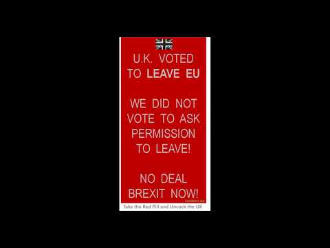 Conservatives Are Globalist Left Wingers! BRexit voted to LEAVE EU, not asking permission to leave!