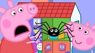 Peppa Pig in Hindi - Mister Skinnylegs - Makdi - हिंदी Kahaniya - Hindi Cartoons for Kids