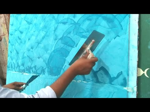 Asian Paints Colour Academy royal play training texture design wall ...