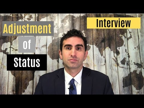 Adjustment of Status I-485 Interview - What Exactly Happens?