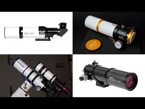 Let's Talk Astrophotography Telescopes (Small Refractors)