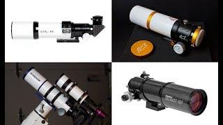 Let's Talk Astrophotography Telescopes (Small Refractors)