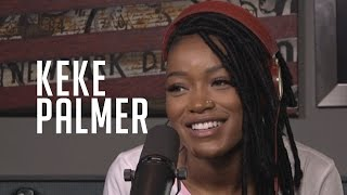 Hot 97 - Keke Palmer Talks New Music, 1st Sex Scene & Says Cuevos Stands Like a Lesbian
