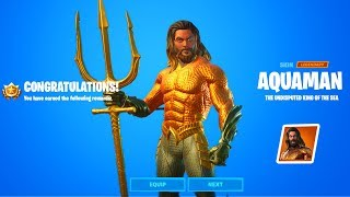 How To Unlock Aquman Fortnite - Complete All Aquaman Challenges