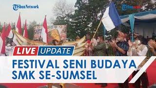 OKU Timur Jadi Tuan Rumah Festival Seni Budaya SMK Se-Sumsel, Ratusan Kontingen Ikut Partisipasi