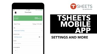 TSheets iPhone Mobile App
