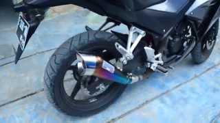 Knalpot Leovince Cobra Rainbow Knalpot CBR150r Racing Custom