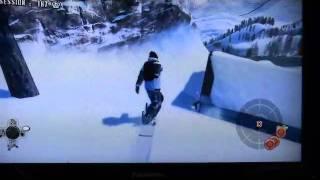 XBOX360ショーンホワイトスノーボーディングの動画