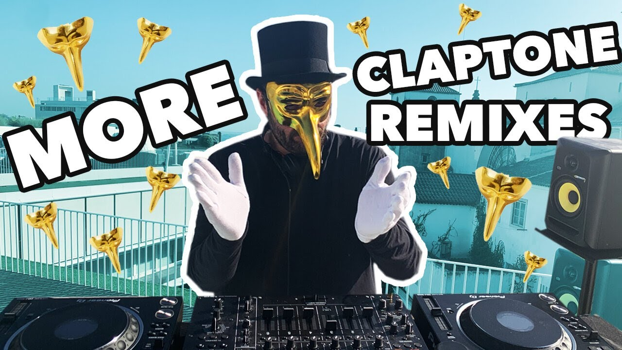Claptone - Live @ Some Rooftop, More Claptone Remixes 2020