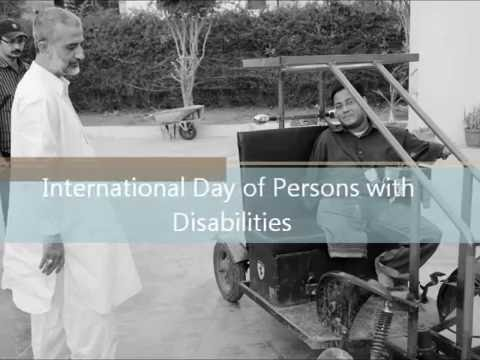 Disabled person day Sarim Burney Trust