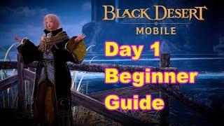 Day 1 Beginner tips - Black Desert Online Mobile Global