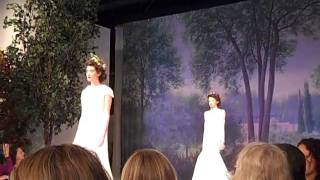 Claire Pettibone Bridal 2012 Runway Fashion Show