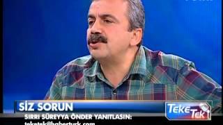 Teke Tek - Sırrı Süreyya Önder - 28 Mayıs 2013 - 2/3