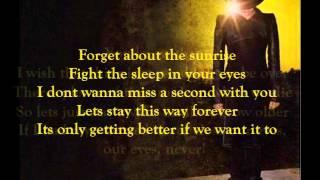 Adam Lambert - Never Close Our Eyes (lyrics)