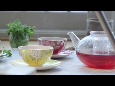 Wedgwood Tea Garden Green Tea with mint thee 60 gram