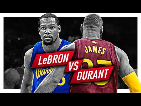 06caaaf37ee LeBron James vs Kevin Durant EPIC Duel Highlights from 2016 2017 Season play