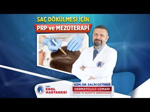 Saç Dökümü İçin PRP ve Mezoterapi - Uzm. Dr. Salih Çetiner - İzmir Ekol Hastanesi