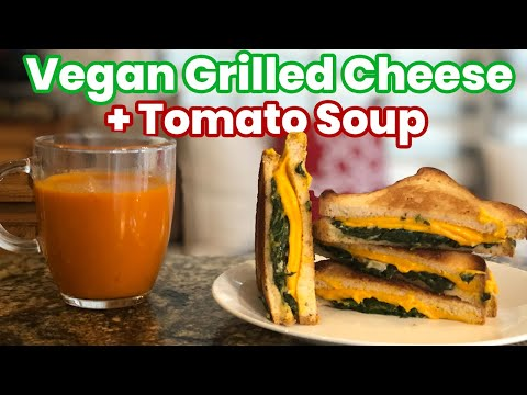 , title : 'Vegan Grilled Cheese and Tomato Soup