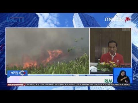 Jokowi Ultimatum Kepala Daerah Aktif dalam Pencegahan Kebakaran Hutan dan Lahan - SIS 17/09