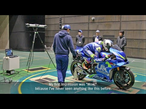 SUZUKI ECSTAR 2019  WIND TUNNEL TESTING IN JAPAN