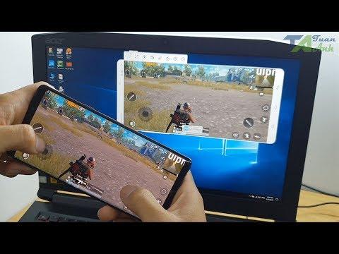Cách chiếu hình ảnh điện thoại Android lên máy tính