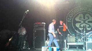 """Flogging Molly Berlin 22.11.11  Abschied  """"always look on the bright side of life"""""""
